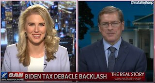 The Real Story - OANN Biden Tax Debate with Grover Norquist