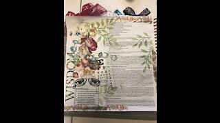 Let's Bible Journal Ecclesiastes 7 (from Lovely Lavender Wishes)