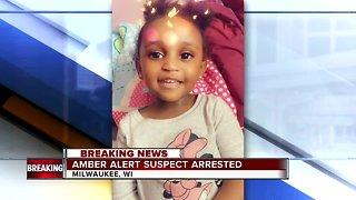 Amber Alert suspect in custody
