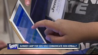 Summer camp helps kids who communicate non-verbally
