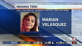 Golden Gate teen Marian Velasquez reported missing in Collier County