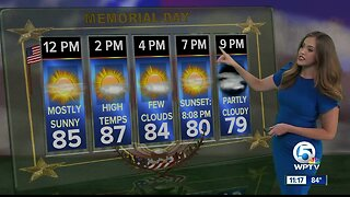 South Florida Monday afternoon forecast (5/27/19)