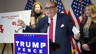 Dominion Voting Systems Sues Rudy Giuliani