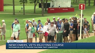 Newcomers, vets enjoying course at Southern Hills