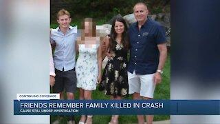 Friends remember family killed in plane crash in Lyon Township