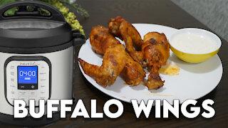 Instant Pot Wednesday: Buffalo Wings