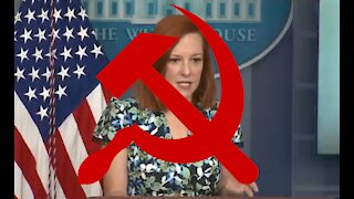 Jen Psaki Repeats Chinese Communist Talking Points After Reporter Asks Her About Ambassador's Speech