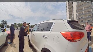 Euclid Police in Ohio rescue baby trapped inside hot car