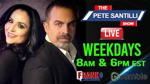 Pete Santilli Show 24/7 Stream - Live At 8am-10am EST & 6pm-9pm EST