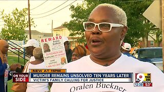 After 10 years, shooting victim's family still hopes for arrest