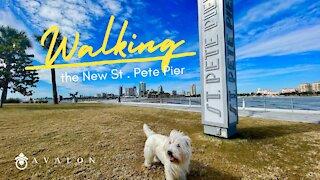 Walking the New St. Pete Pier