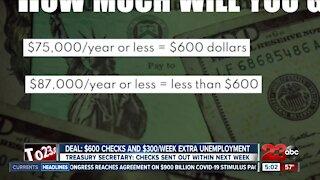 Stimulus checks on the way