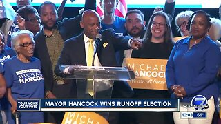 Michael Hancock claims victory in Denver mayoral runoff election, other races still too close to call