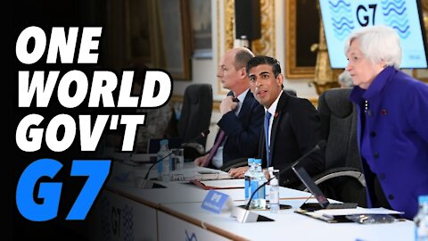 One World Government. G7 15% tax deal (Live)