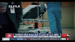Dignity Health hospital officials initiate surge plans