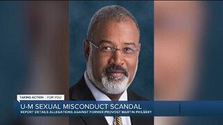 Report details allegations against former UM provost