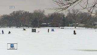 Ice conditions on Lake Winnebago improve slightly