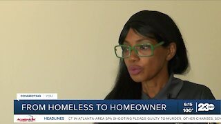 Bakersfield resident talks journey from homeless to homeowner