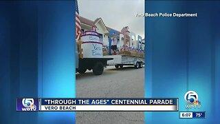 """""""Through the Ages"""" centennial parade held in Vero Beach"""