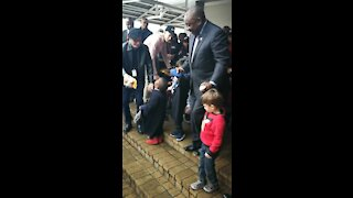 Ramaphosa goes live with patients at children's hospital radio station (TNh)