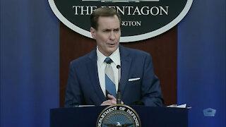Pentagon Press Secretary Holds Briefing