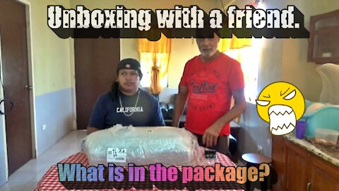 First time unboxing pc central free items with friend