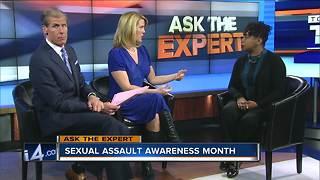Ask The Expert: Sexual Assault Awareness Month