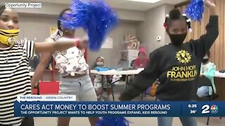 CARES Act funds going to expanding summer youth programs