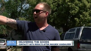 Frustrated Aurora residents seek Contact 7's help getting damaged neighborhood mailbox repaired