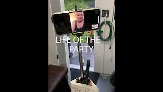 Virtual Party Guest at Party