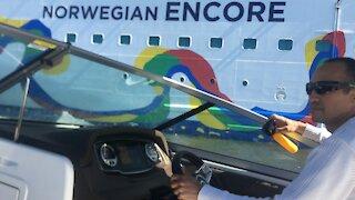 Norwegian Cruise Line Ships Stranded