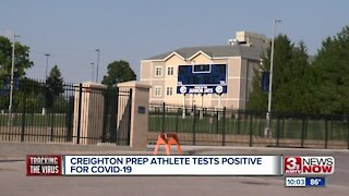 Creighton Prep Athlete Tests Positive for COVID-19