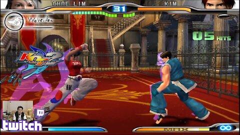 (PS2) KOF Maximum Impact 2 - 25 - Hard Challenge - Level 10-1??? are we done yet?