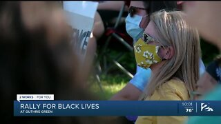 Peaceful Rally for Black Lives at Tulsa's Guthrie Green
