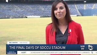 Final days of SDCCU Stadium
