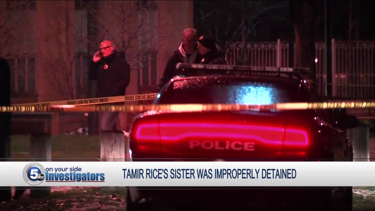 Review board finds police improperly detained Tamir Rice's sister