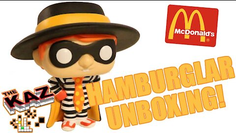 McDonald's Hamburglar Funko Pop Unboxing