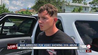 Lehigh Acres man arrest after abusing dog