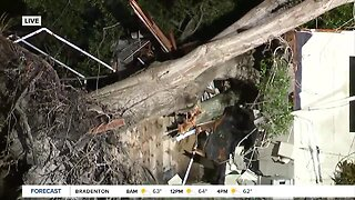Team coverage: Severe weather batters Tampa Bay area