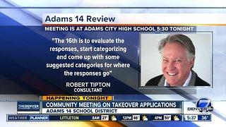 Adams 14 community meeting tonight