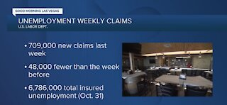 Unemployment weekly claims