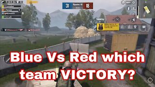 Blue Vs Red which team VICTORY?