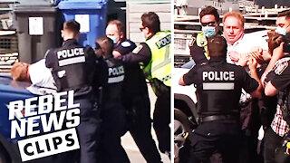 Ezra Levant reacts to Montreal police raid on Rebel News Airbnb