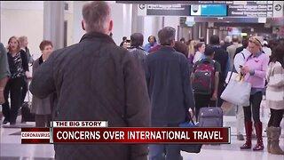 Coronavirus concerns over international travel