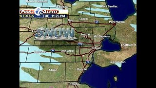 More snow showers