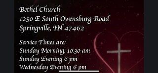 Bethel Church Sunday Morning February 7th, 2021