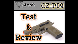 CZ-P09 Airsoft Pistol Review