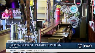 Local bars prepping for first St. Patty's Day back open