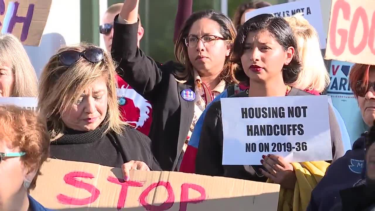 New homeless ordinance takes effect in Las Vegas