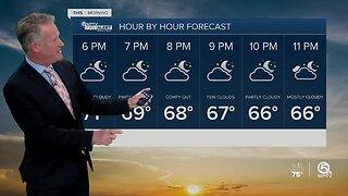 Thursday night WPTV First Alert forecast